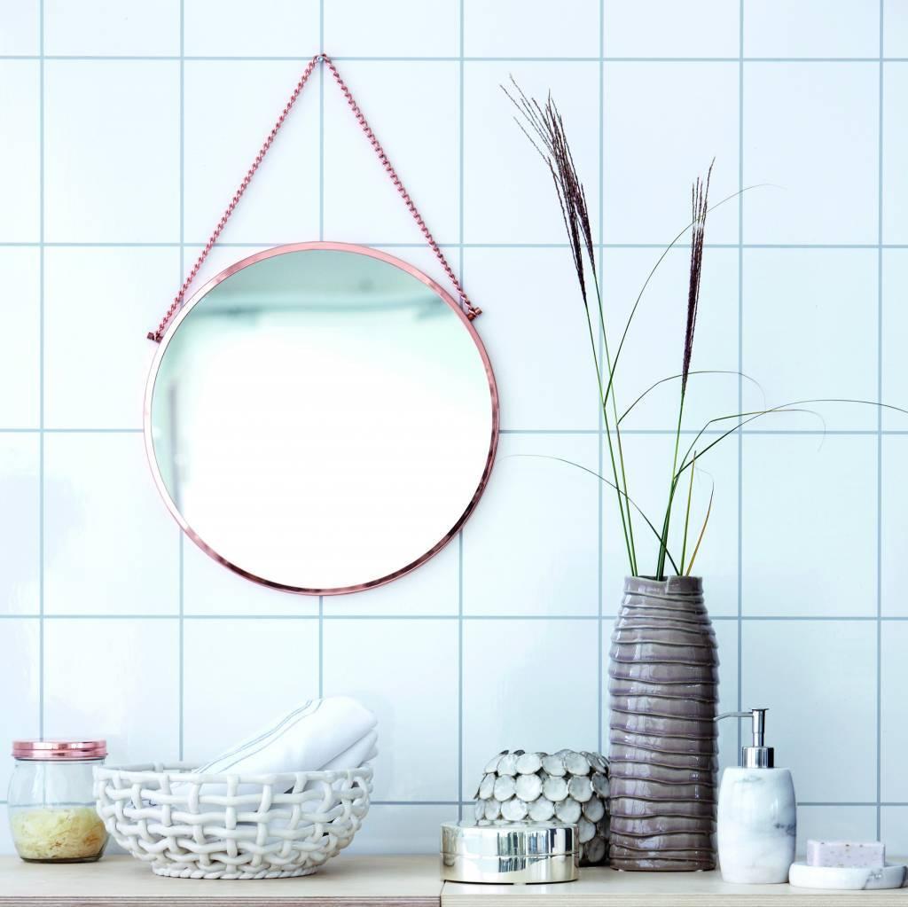 housedoctor vase 39 dot 39 white 15x10cm. Black Bedroom Furniture Sets. Home Design Ideas
