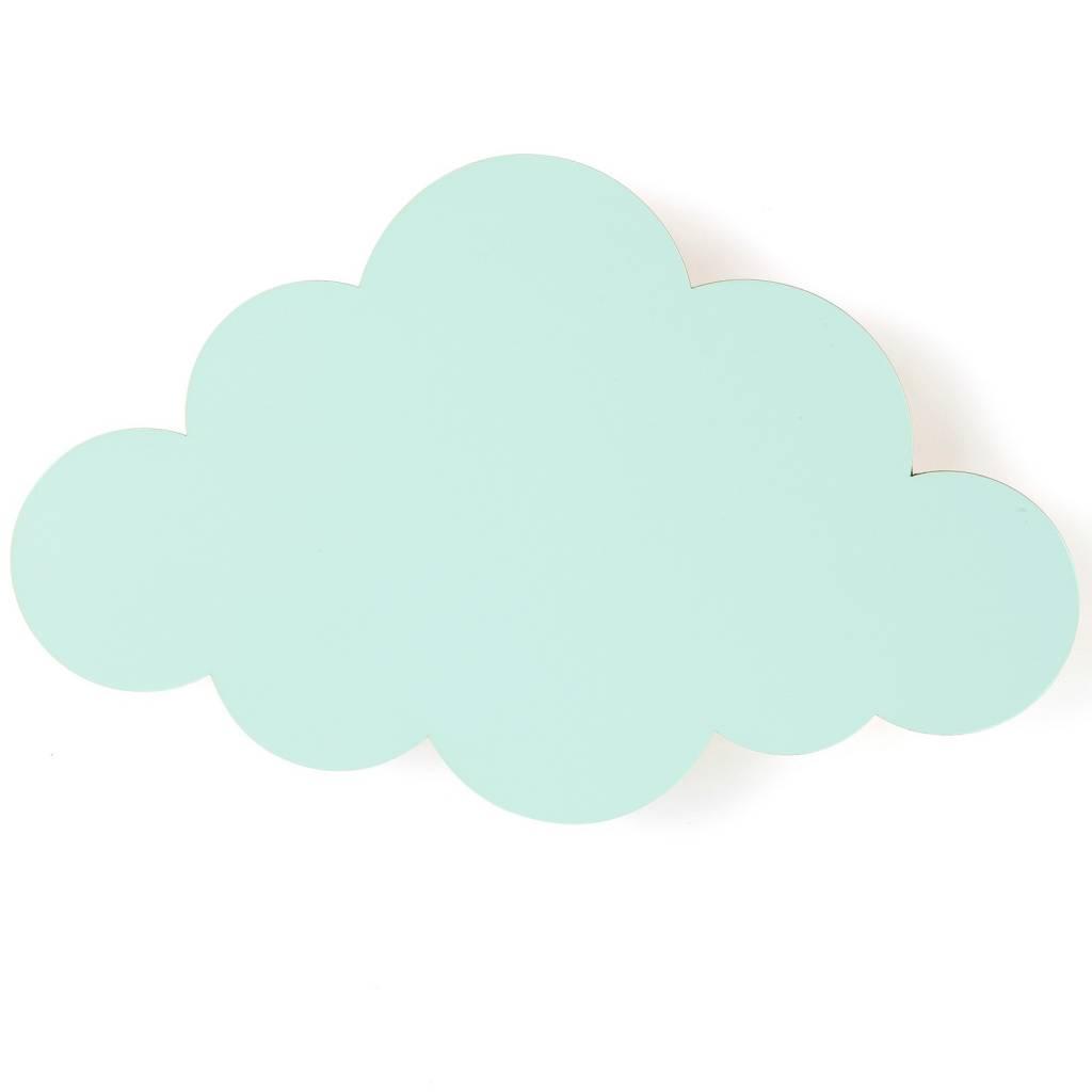 Ferm Living Lampada Da Parete Nuvola Di Legno Verde Menta