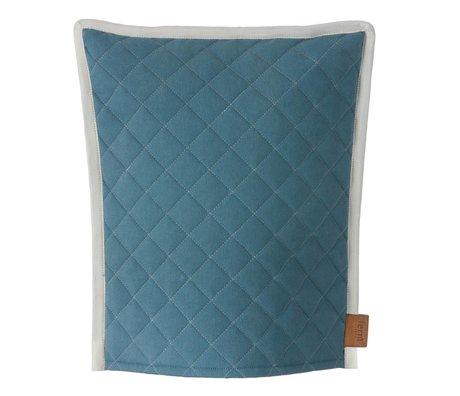 Ferm Living Teemütze Cozy, petrol / gray, 30x35cm