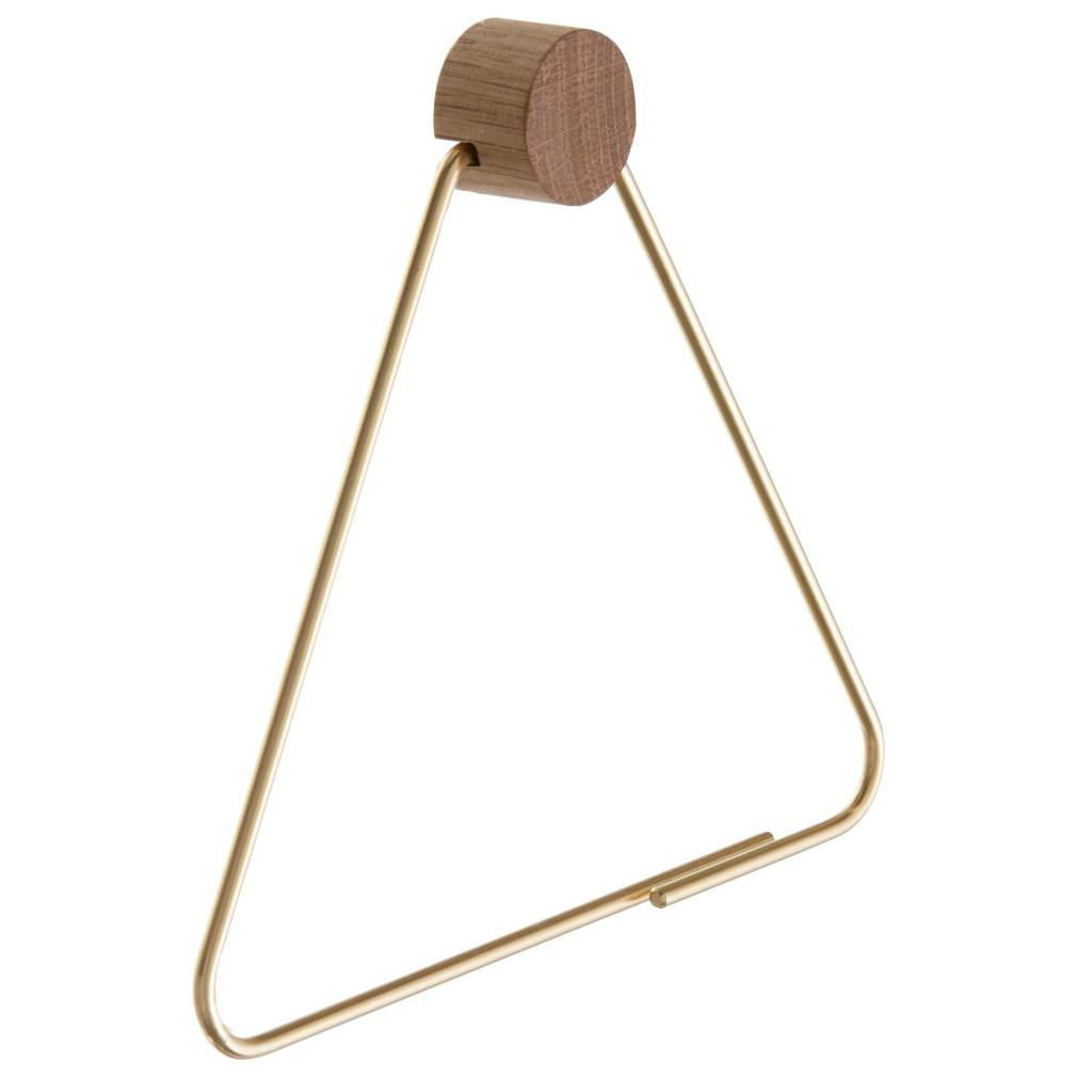 Ferm Living Toilet Paper Holder Brass Gold Colored