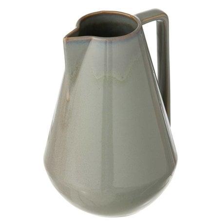 Ferm Living Nuovo brocca in satinato, grigio, Ø15x22cm