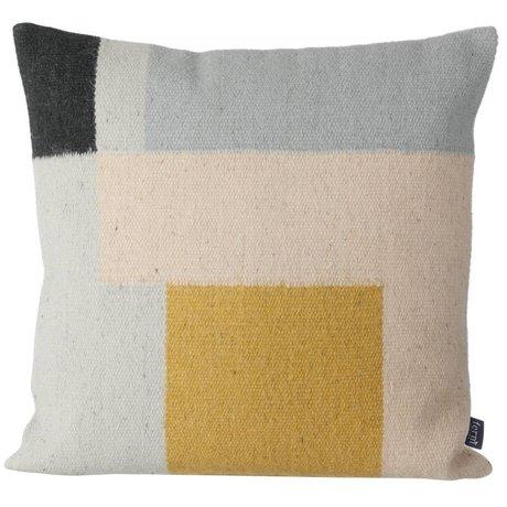 Ferm Living Kilim Pillow Squares, 50x50cm
