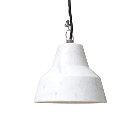 HK-living Lampada a sospensione in marmo, 18x18x14cm