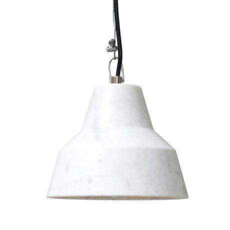 HK-living Lámpara colgante hecha de mármol, 18x18x14cm