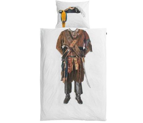 Snurk Linen Pirate cotton, 140x220cm