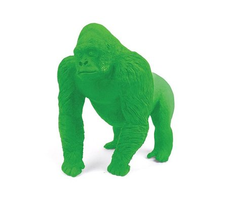 LEF collections Gorilla gomme, vert, L9cm