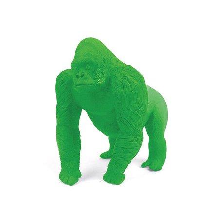 LEF collections Radiergummi Gorilla, grün, L9cm