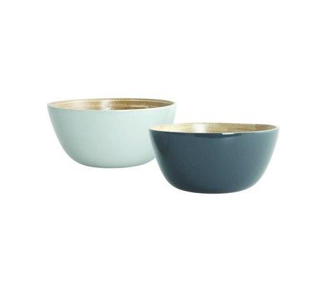 Nicolas Vahé Bowl Set Cravina bambou, gris, Ø12,5cm