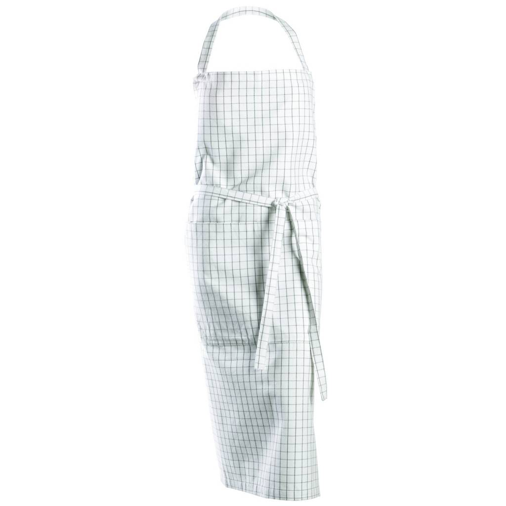White apron cotton - Cute Chef Apron By Nicolas Vah Beautifully Combined With The Matching Tea Towel And Potholder Good For Him And Her