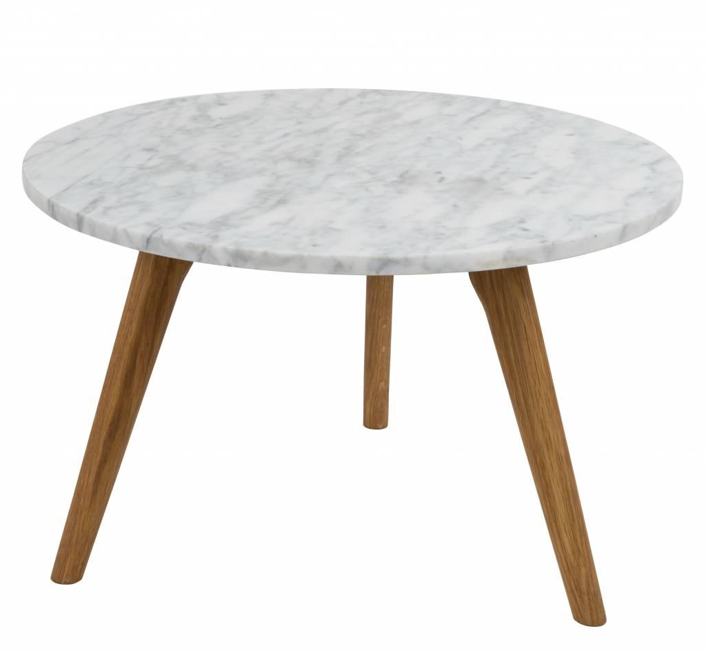 zuiver whitestone lat rale grande en marbre blanc gris. Black Bedroom Furniture Sets. Home Design Ideas
