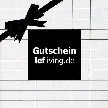 LEF collections lefliving.de chèque-cadeau € 75