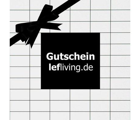 LEF collections lefliving.de chèque-cadeau € 10