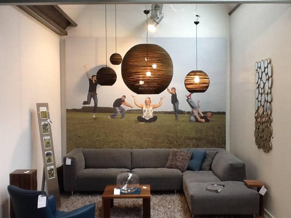 graypants h ngende lampe sun 48 pap brun 128x48cm. Black Bedroom Furniture Sets. Home Design Ideas
