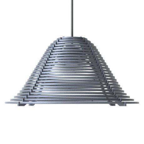 Graypants Asma lamba Vela Alüminyum, gri, Ø44x25cm