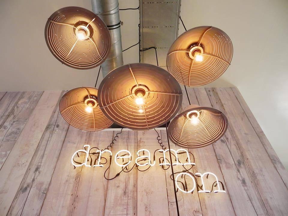 Graypants lampada a sospensione vela alluminio grigio Ø cm