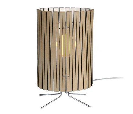 Graypants Lampe de table Palmer en carton, blanc, Ø21x39cm