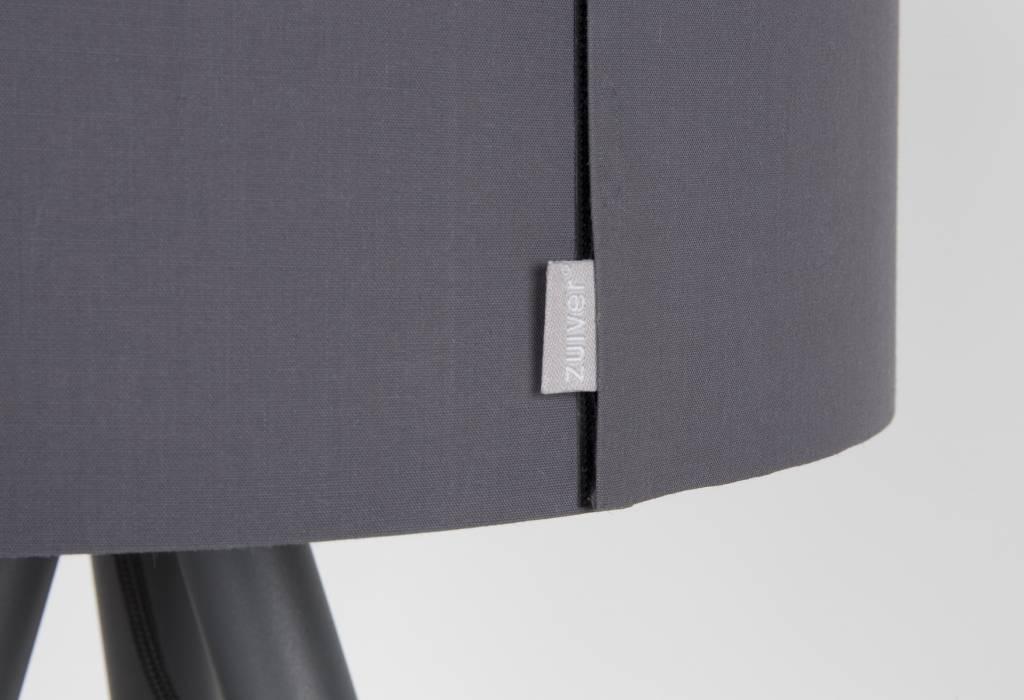 Zuiver lampada da tavolo highland metallo legno Ø30xh54cm grigio