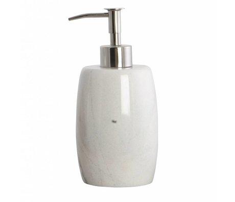 Housedoctor Distributeur de savon marbre gris de ø8,4x17,5cm