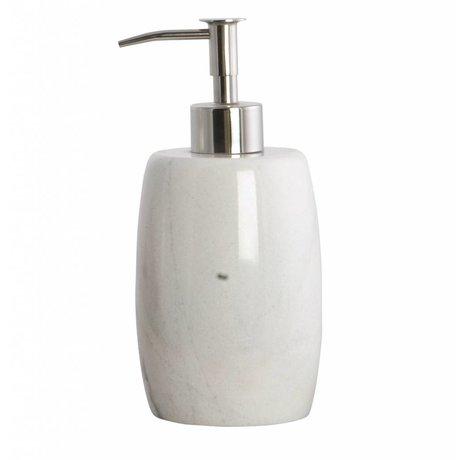Housedoctor Sæbe Dispenser Marmor grå ø8,4x17,5cm