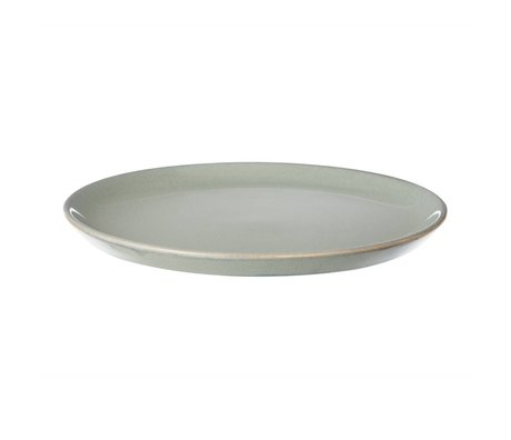 Ferm Living Board tray Neu gray stone glazed small ø22cm