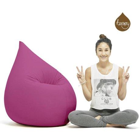 Terapy Gota pelotita Elly algodón rosa 100x80x50cm 230 litros