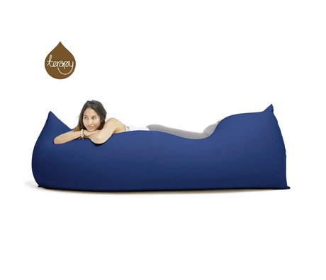 Terapy Beanbag Baloo cotone blu 180x80x50cm 700 litro