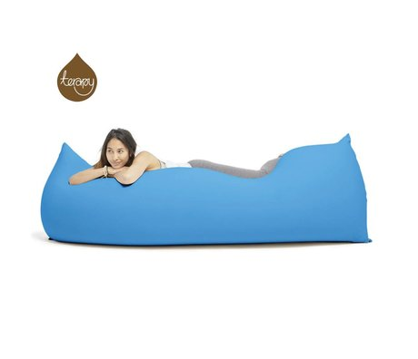 Terapy Beanbag Baloo cotone turchese 180x80x50cm 700 litro