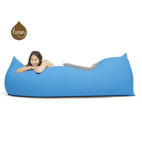 Terapy Beanbag Baloo turkuaz pamuk 180x80x50cm 700liter