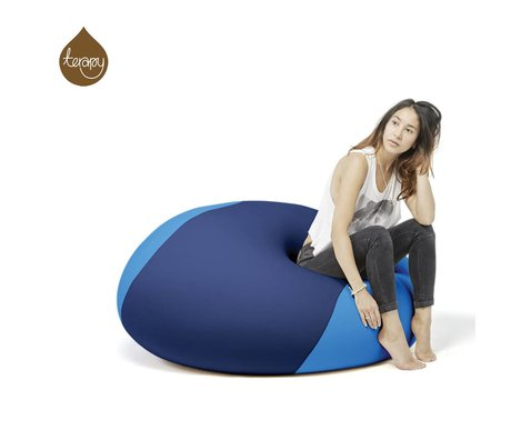 Terapy Beanbag Ollie blå turkis 100x100x80cm 700liter
