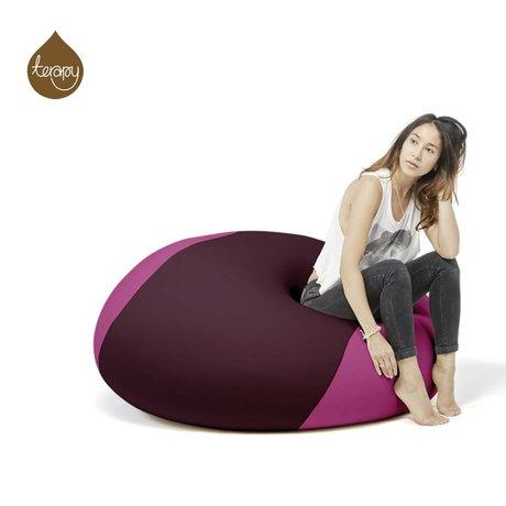 Terapy Beanbag Ollie eggplant pink 100x100x80cm 700liter