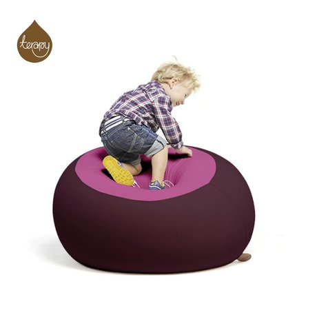 Terapy Pouf Stanley rose aubergines 70x70x80cm 320liter