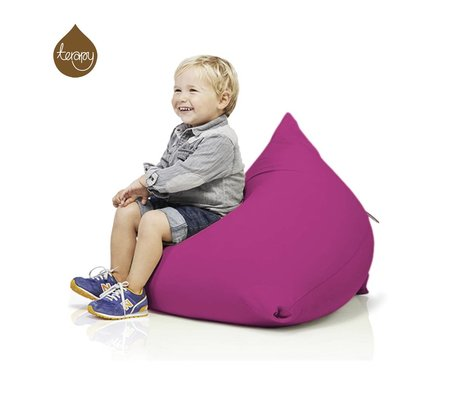 Terapy Beanbag Sydney pyramide lyserød bomuld 60x60x60cm 130liter