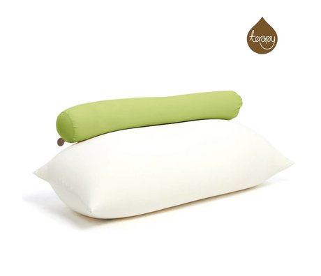 Terapy Beanbag Toby algodón verde 160x25x25cm 120 litros