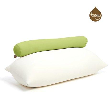 Terapy Beanbag Toby cotone verde 160x25x25cm 120 litro