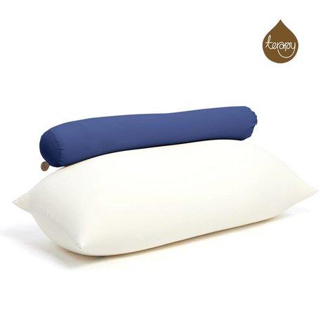 Terapy Beanbag Toby algodón azul 160x25x25cm 120 litros