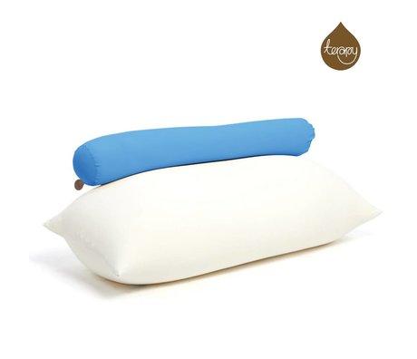Terapy Beanbag Toby algodón turquesa 160x25x25cm 120 litros