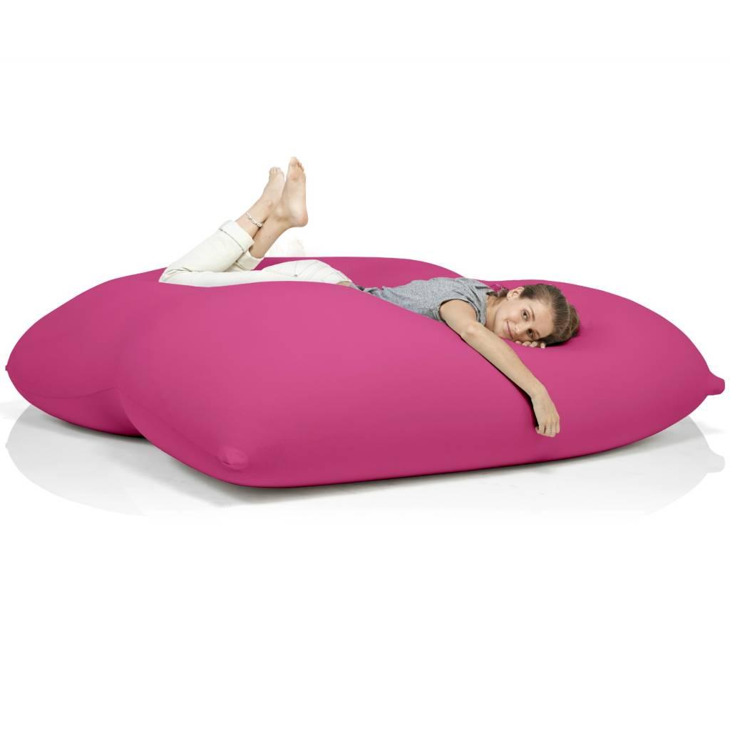 terapy sitzsack dino aus baumwolle rosa 180x160x50cm. Black Bedroom Furniture Sets. Home Design Ideas
