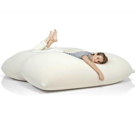 Terapy Beanbag Dino off-white cotton 180x160x50cm 1400liter