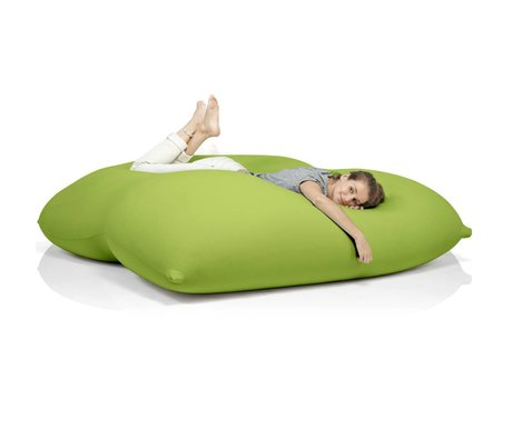 Terapy Pouf Dino coton vert 180x160x50cm 1400liter