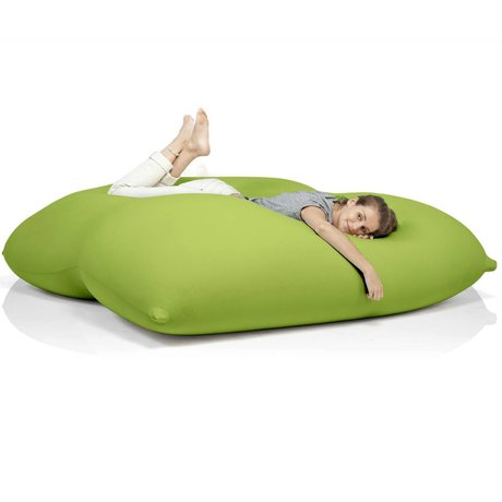Terapy Beanbag Dino grøn bomuld 180x160x50cm 1400liter