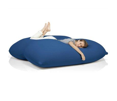 Terapy Sitzsack Dino aus Baumwolle, blau, 180x160x50cm 1400liter