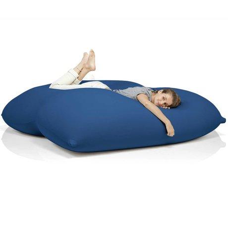 Terapy Beanbag Dino cotone blu 180x160x50cm 1400 litro