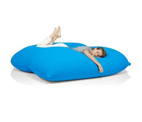 Terapy Beanbag Dino turquoise cotton 180x160x50cm 1400liter