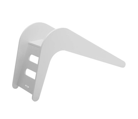 Jupiduu Slide White Elephant wooden, white, 145x43x68cm