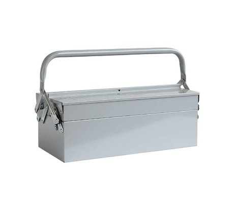 Housedoctor Stockage boîtes OUTIL 42x20xh11,5cm bleu gris
