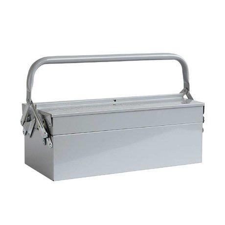 Housedoctor Almacenamiento Cajas de herramientas azul 42x20xh11,5cm gris