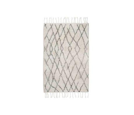 HK-living Orta damalı halı paspas 60x90cm