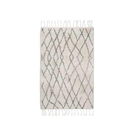 HK-living Cuadros Medio estera alfombra 60x90cm