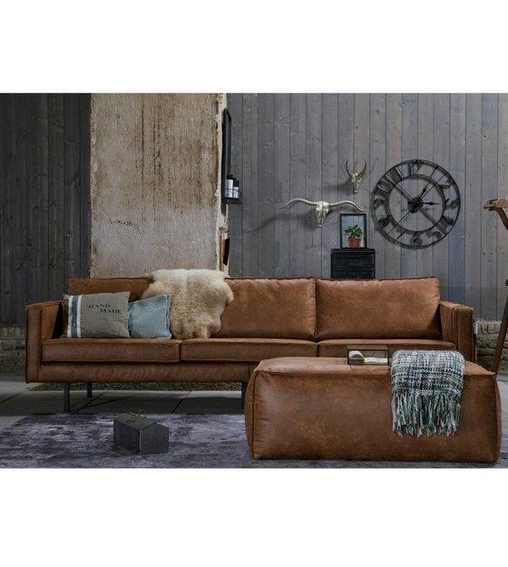 sofa rodeo 3 sitzer aus leder cognacbraun 78x274x87cm. Black Bedroom Furniture Sets. Home Design Ideas