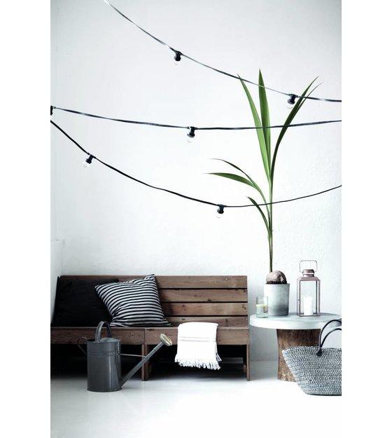 seletti lichterkette mit 10 gl hbirnen wei l14 2m. Black Bedroom Furniture Sets. Home Design Ideas